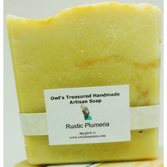 204547---Soap---Rustic-Plumeria---6-oz  $6.00