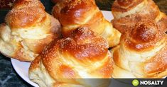 Hungarian Desserts, Hungarian Recipes, Hungarian Food, Strudel, Pretzel Bites, Doughnut, French Toast, Muffin, Sweets