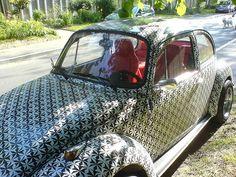 Beetle Bug, Vw Beetles, Vintage Love, Vintage Cars, Bug Car, Red Interiors, Old Cars, Volkswagen, Automobile