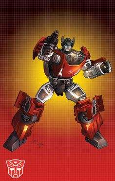 Sideswipe - The first Autobot I ever had when I was a kid.