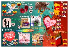 Valentine Anywhere 5 in 90 - 9x6 - 30 Cues format : Templates Tickets | Tambola Housie