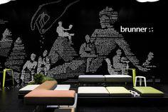 Ippolito Fleitz Group: Brunner - Fair stand Salone Internazionale del Mobile 2012