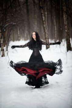 Winter dressed Md Anastasia Kashtanova