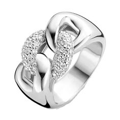 Chunky Inter-Locking Ring- 50 – Rocks Jewellers Stackable Rings, Locks, Sterling Silver Rings, Jewelry Collection, Heart Ring, Wedding Rings, Engagement Rings, Jewels, Bracelets
