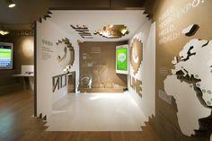 cardboard / Naver Line Square / Urbantainer