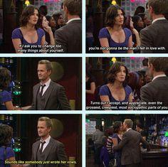 #HIMYM Robin & Barney #love