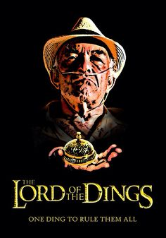 Lord of the Dings t-shirt by Brother Adam. Fun new parody of a Lord of the Rings poster featuring Hector Salamanca from Breaking Bad Breaking Bad Poster, Breaking Bad Memes, Art Breaking Bad, Breaking Bad Tattoo, Costume Breaking Bad, Movies And Series, Tv Series, Funny Meme Pictures, Funny Memes