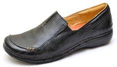 Clarks Unstructured UN.BUCKLE Black Slip Ons Oxfords Shoes Women's 6 - NEW 39027 #Clarks #Oxfords