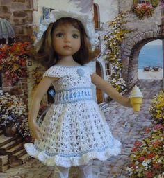 "~* TOUCHE de BLEU *~  for 13"" Dianna Effner Studio's Little Darlings Dolls"