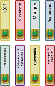 Material: Loben und Regeln | Hausaufgabengutscheine | Klammerkarten | Bilder-Puzzle | Zeugnisurkunden | Schutzengel | Geschenanhänger | Ordnung