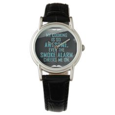 Funny cooking alarm cheering wrist watch