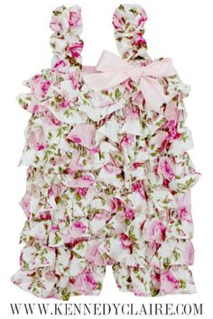 Adorable Baby Girl Boutique! Shop rompers, outfits, accessories and trendy apparel for baby girls at great prices! FAST Shipping and adorable styles! www.KennedyClaire.com