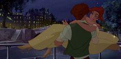 Dimitri & Anastasia from Anastasia, 20th Century Fox