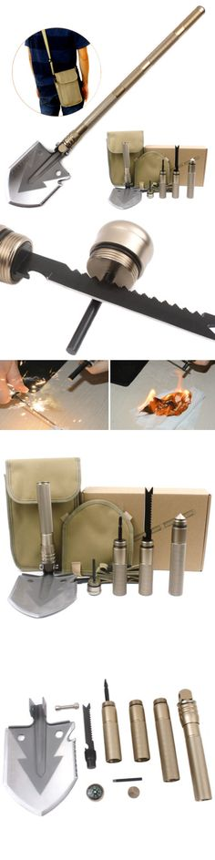 Camping Shovels 75233: Military Shovel Folding Camping Shovel Outdoor Survival Multi-Function Tool -> BUY IT NOW ONLY: $35.15 on eBay!