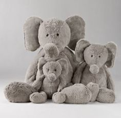 Cuddle Plush Elephant | Plush Gifts | Restoration Hardware Baby & Child