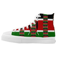 #Lovely #Kenya High Tops #Printed #Shoes #inspiration for your #special #occasion and #everyday #urban #African #style.