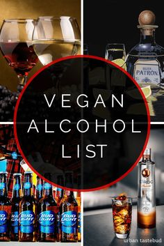Vegan Alcohol Listing