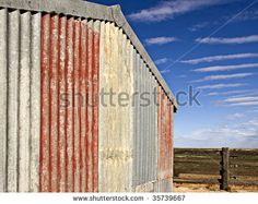 Google Image Result for http://image.shutterstock.com/display_pic_with_logo/269176/269176,1251027354,7/stock-photo-corrugated-iron-shed-blue-sky-35739667.jpg