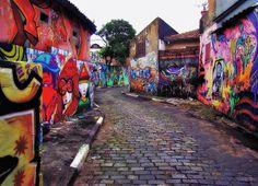 """""""Crazy Street"""" por Serlunar."""