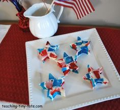 broken glass jello stars