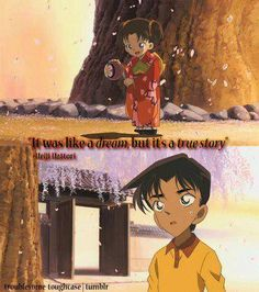 Little Kazuha and Heiji (Detective Conan, movie #7)