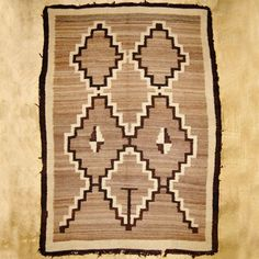 Navajo Two Grey Hills Rug By Jessie Be 74 X 46 Handwoven Pinterest And Southwest Art