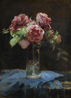 Roses. By Georgios Iakovidis (1853-1932), private collection