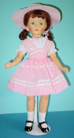 Doll College Beautiful Dolls Margaret Obrien Dolls Pink Gingham Gingham