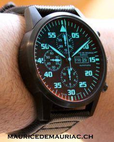 Swiss watch from Maurice de Mauriac, watches for men