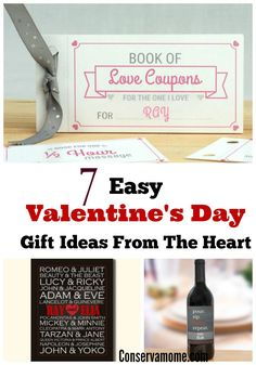 Easy Valentine's Day Gift Ideas