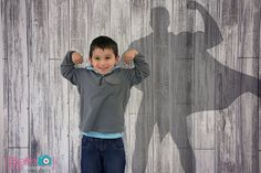 """Congrats to Photographer of the Week: Beth Hill Photography! This adorable """"superkid"""" was photographed on our Whitewash Wood Backdrop. Children Photography, Animal Photography, Portrait Photography, Photography Ideas, Boy Photos, Family Photos, Superhero Pictures, Whitewash Wood, Best Portraits"""