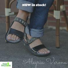 NOW in stock! #alegria #sandals #verona