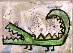 aux arts etc: stage de noël: modelage, collages, couleurs, carbonne (humeur!), etc...