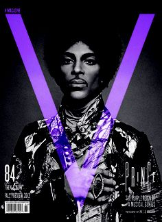 V Magazine August 2013: Prince photographed by Inez Van Lamsweerde and Vinoodh Matadin. Photo courtesy of V Magazine