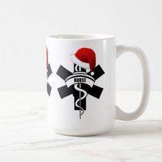 Christmas Nurse Holidays Coffee Mug - Xmas ChristmasEve Christmas Eve Christmas merry xmas family kids gifts holidays Santa