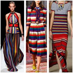 Fashion For Giants: Trend to Try: Multi Stripe