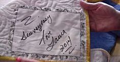Want To Label Your Quilts? Here Are Two Great Ways To Do So!