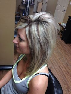 Highlights with Red Lowlights