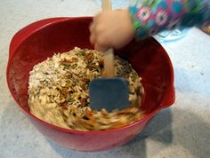 Baking With Kids: Granola is a fun dish to prepare, kids can practice measuring and mixing