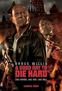 We're sponsoring a screening of A Good Day to Die Hard starring Bruce Willis and Jai Courtney on Friday, February 15 at 7:30 p.m.