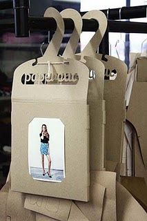 If you want to customize a good-looking t-shirt packaging, visit Papercut Patterns Packaging (hanger). If you want to customize a good-looking t-shirt packaging, visit Clothing Packaging, Fashion Packaging, Brand Packaging, T Shirt Packaging, Cardboard Packaging, Paper Packaging, Innovative Packaging, Sewing Room Organization, Ideias Diy