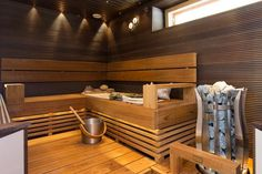 Here's many things I like. Portable Steam Sauna, Sauna Steam Room, Sauna Design, Spa Rooms, Massage Room, Cozy Cabin, Cabin Homes, Dream Rooms, Saunas