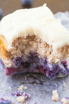Paleo blueberry breakfast cake