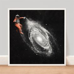Space Art Print by Florent Bodart made in France on CrowdyHouse