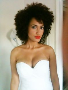 Andy Allo | Gorgeous hair and makeup