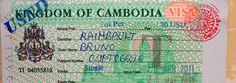 Cambodian Visa, Cambodia