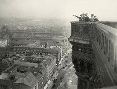 Die Königstrasse gesehen vom Roten Rathaus. Berlin, 1910. o.p.