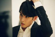 Twitter / SMTownFamily: {OFFICIAL} 140326 #SuperJuniorM Swing Music Video Shoot- Ryeowook