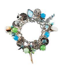 Bead Landing  Seascape Charm Bracelet