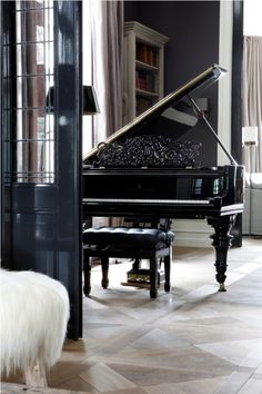 I like piano's and later I want to learn to play the piano. I find them verry stylish.